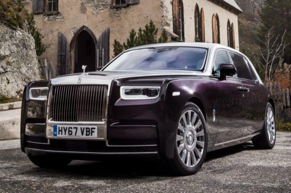 Новая модель Rolls-Royce Phantom