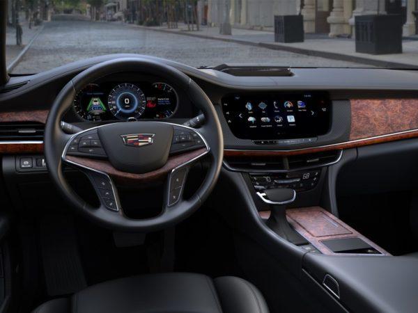 Салон Cadillac CT6