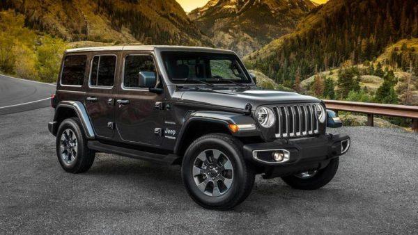 Новый Jeep Wrangler Sahara (JL)