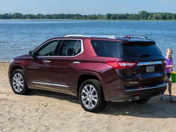 Отзывы о Chevrolet Traverse 2021