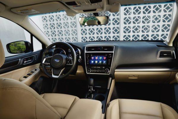 Салон Subaru Legacy 6