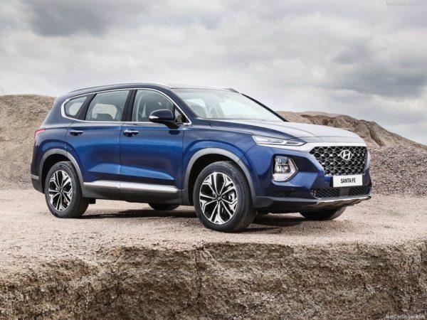 Hyundai Santa Fe 4 в новом кузове