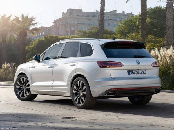 Новый Volkswagen Touareg 3