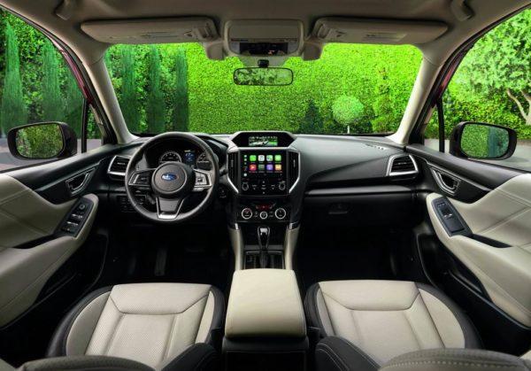 Салон Subaru Forester 5