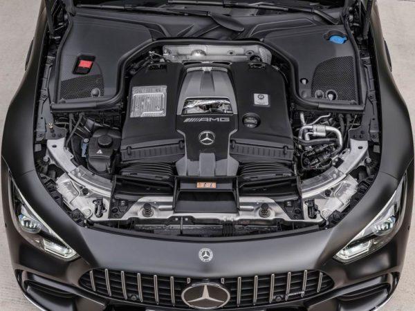 Двигатель 4.0 V8 biturbo