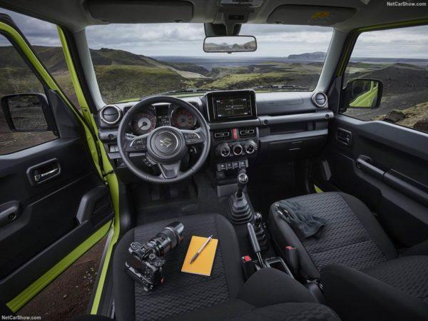 Салон Suzuki Jimny 4