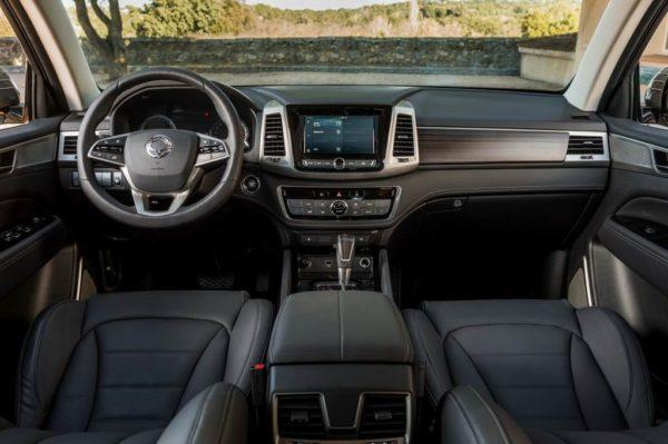 Салон SsangYong Rexton G4