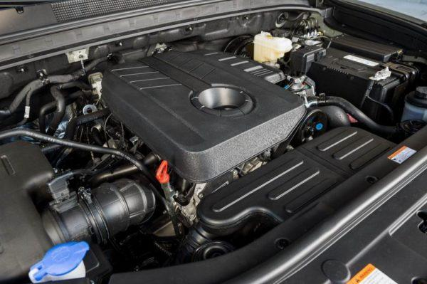 Двигатель Саньенг Рекстон 3