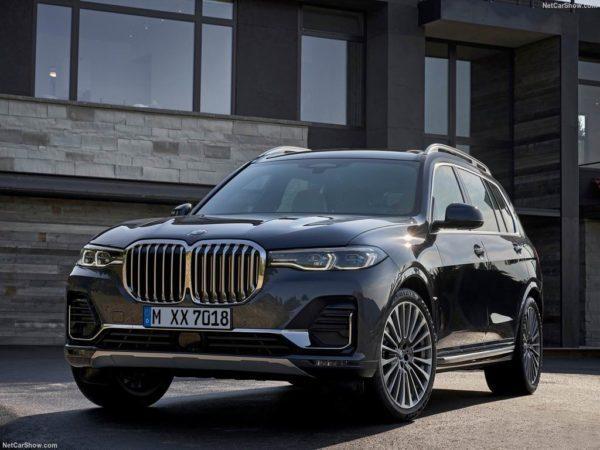 Новая модель BMW X7