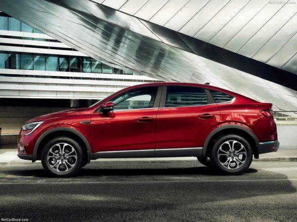 Новый кузов Renault Arkana 2020