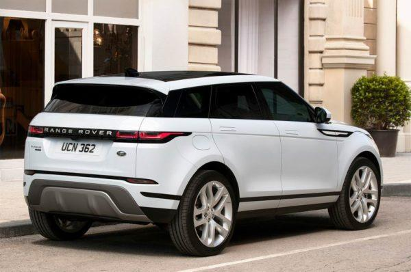 Новая модель Range Rover Evoque II