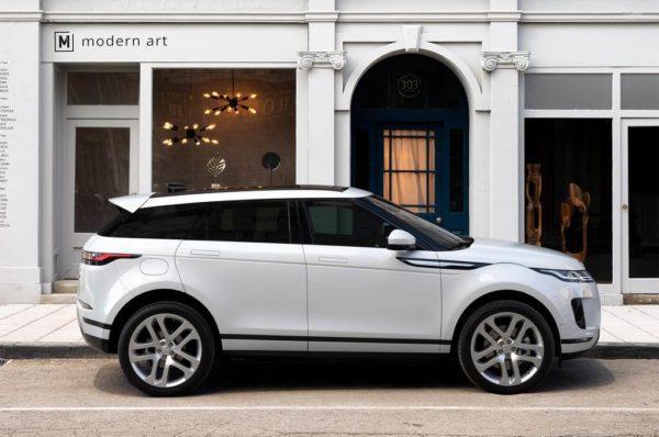 Range Rover Evoque в новом кузове
