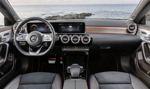 Салон Mercedes CLA C118