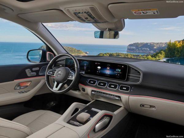Салон Mercedes GLS X167