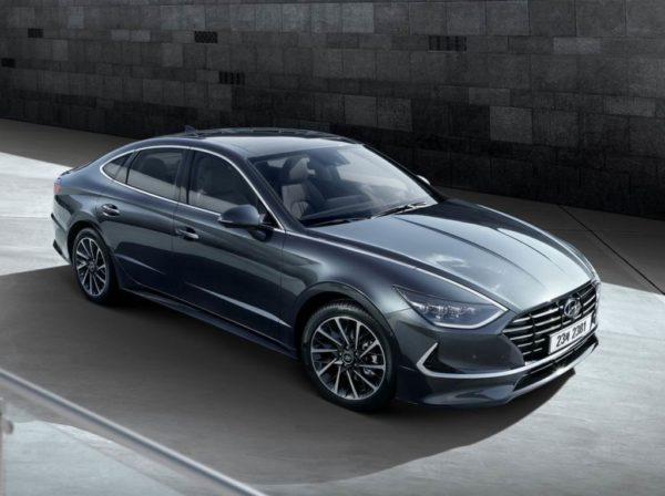 Hyundai Sonata 2020 года