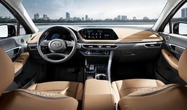 Салон Hyundai Sonata 8