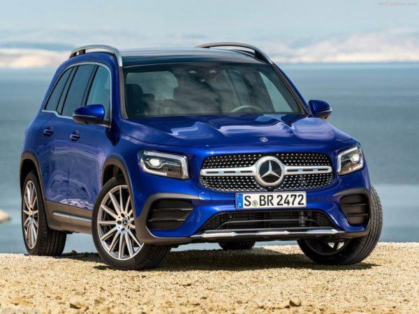 Новая модель Mercedes-Benz GLB