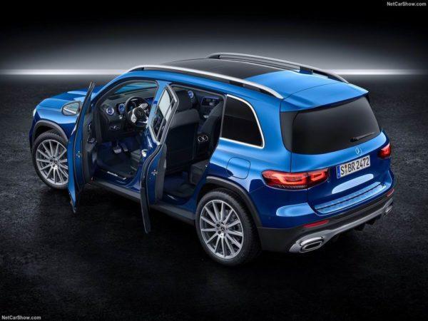 Mercedes GLB 2020 года