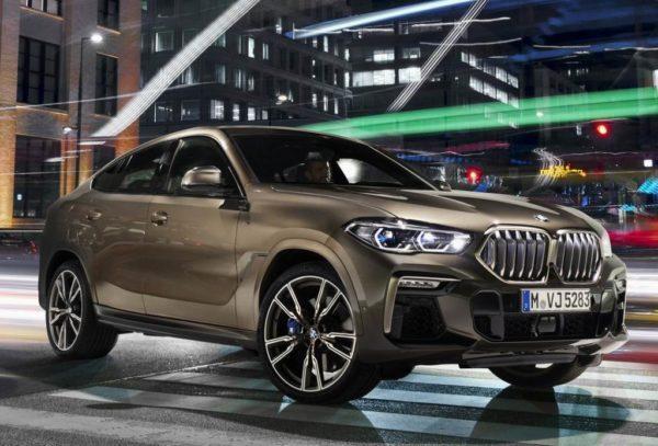 Новая модель BMW X6 2020