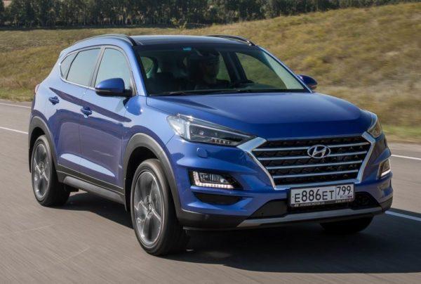 Новый кузов Hyundai Tucson 3