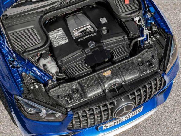 Двигатель нового GLE 63 S