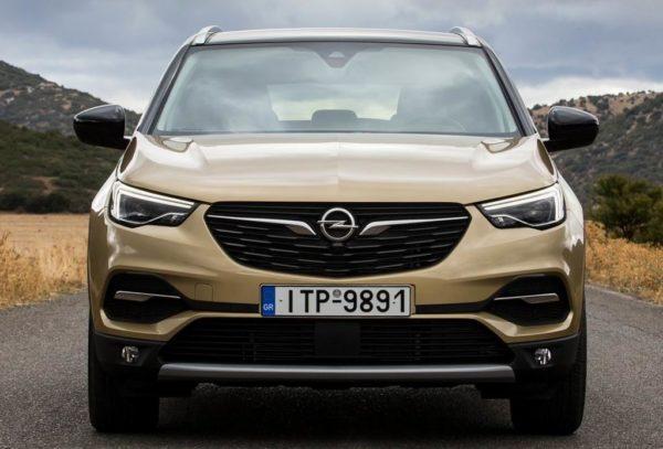 Opel Grandland X 2020 года