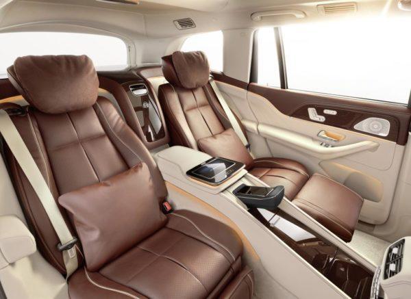 Интерьер Mercedes-Maybach GLS 600