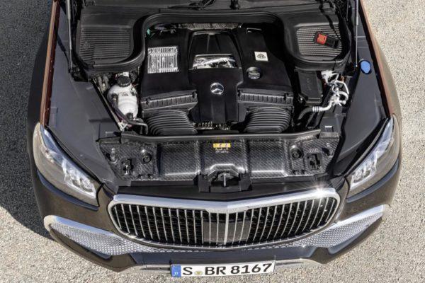 Двигатель Maybach GLS 600