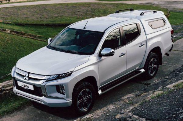 Новый кузов Mitsubishi L200 2020