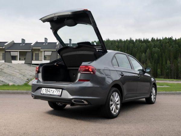 Новый кузов Volkswagen Polo 2021