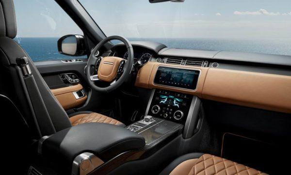 Салон Range Rover Vogue 2021