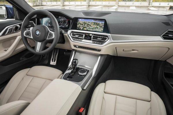 Салон BMW 4-Series 2021