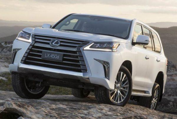 Lexus LX 450d 2021