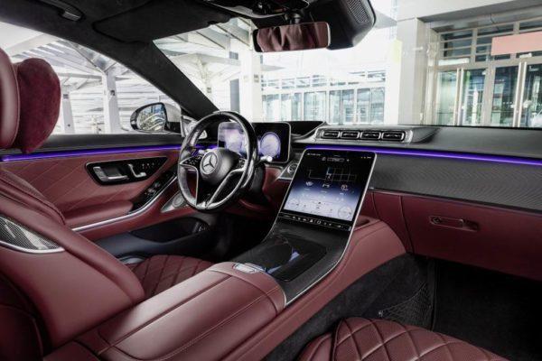 Салон Mercedes S-Class 2021