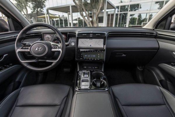 Салон Hyundai Tucson 2021