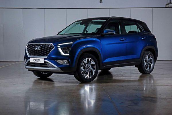 Новый Hyundai Creta 2021 года